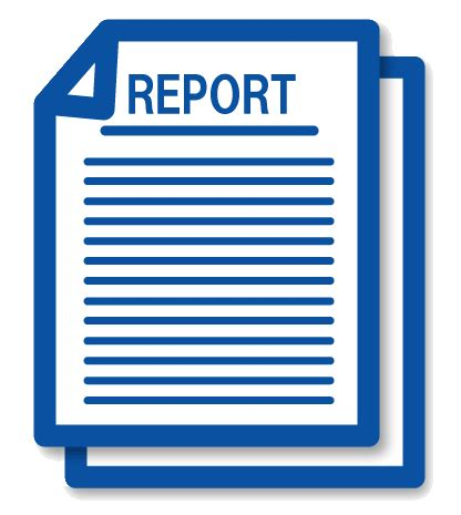 Writing a company report